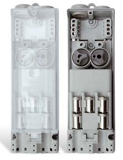 Mennekes 10896 DIN 43628 Erdkabel-Übergangskasten Sicherungskasten
